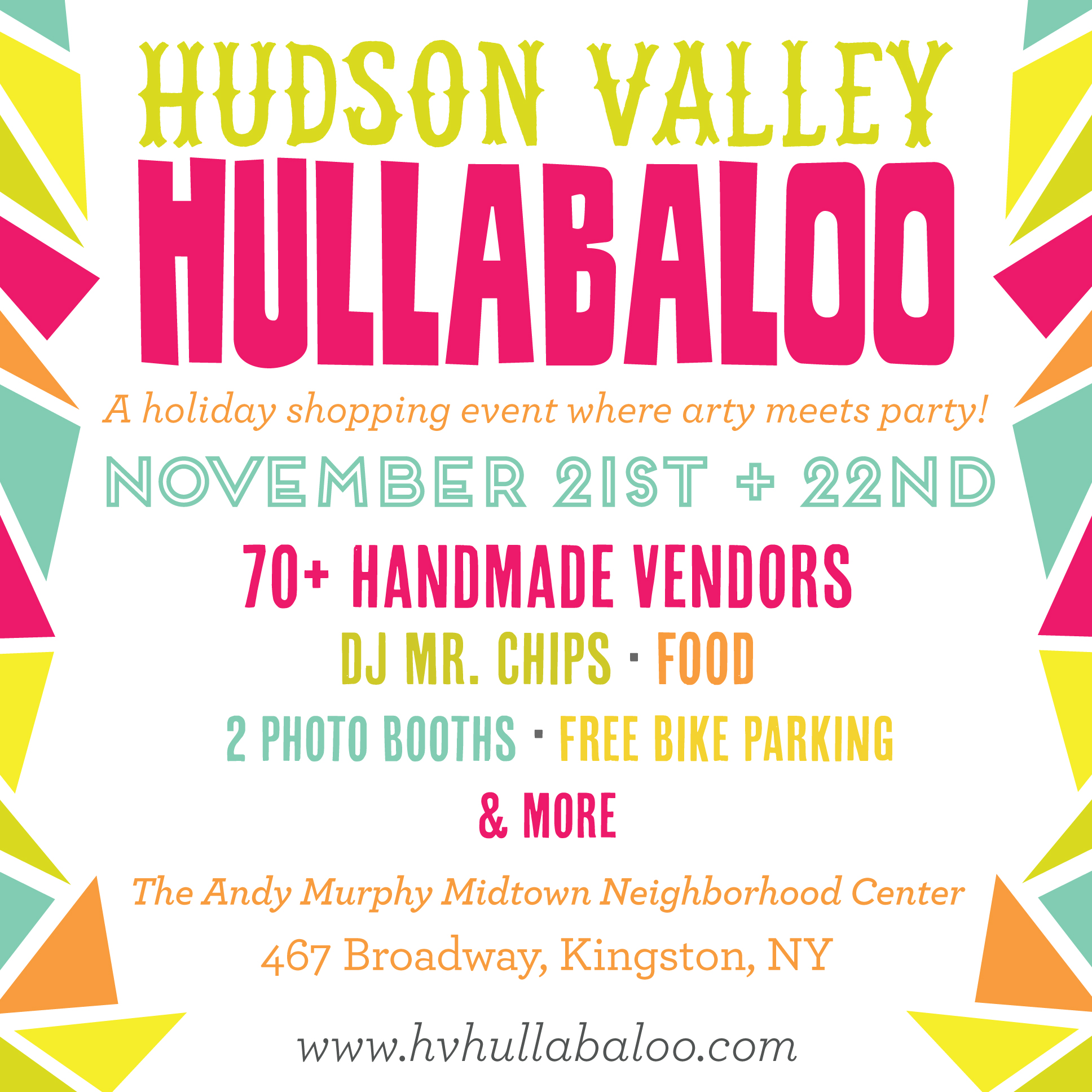 We will be at the Hullabaloo- Will You??