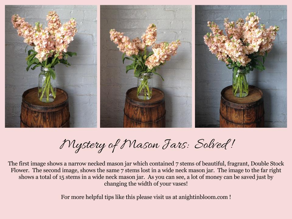 Tips on Tuesday:  Mason Jar Mystery Solved!